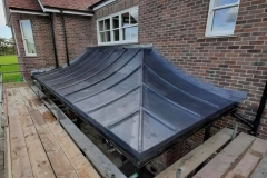 Nice Lead canopy completed by our in house Lead Plumbers in Chailey