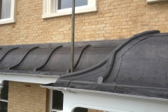 Lead concave bay roof - Worthing
