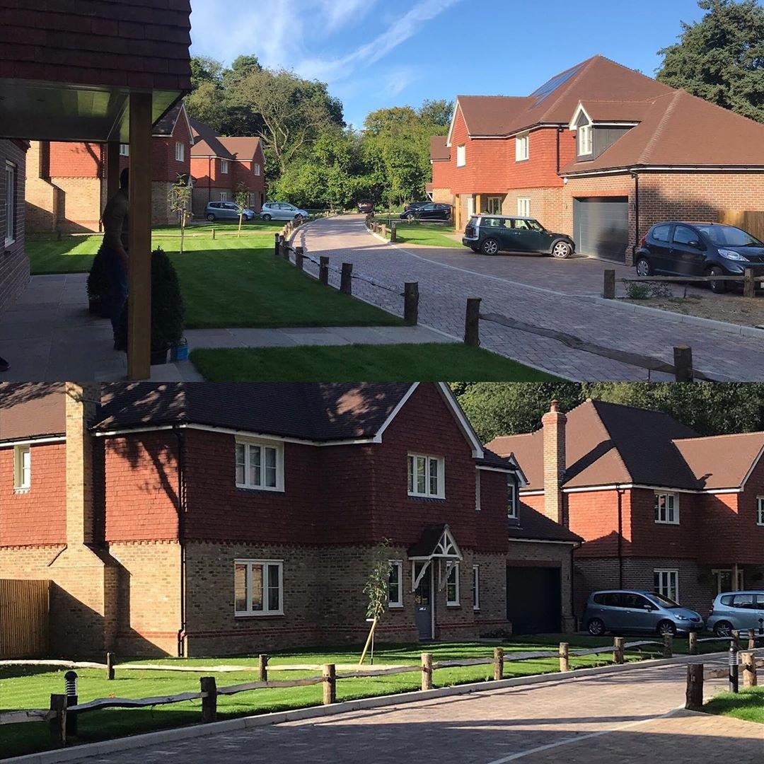 Sahtas, terreal combination, Claytile Roofing - Crawley down