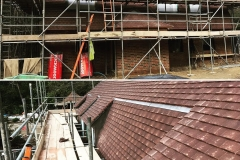 Marley concrete plain tiles - Roof works in Hascombe