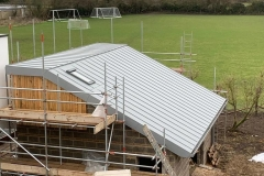 Aluminium roof - standing seam - Oxford - Metal roofers