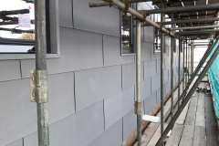 Flat lock cladding
