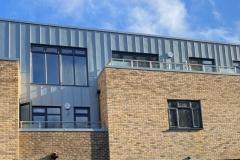 Croydon - Ridgehanger - Park hill Rise - Zinc Cladding